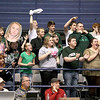 Brad Davis/The Register-Herald<br /> Wyoming East fans react to action against St. Albans Wednesday night.