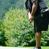 Brad Davis/The Register-Herald<br /> Winston Canada watches his putt on 15 during BNI Memorial Tournament action Saturday at Grandview Country Club.