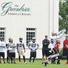 Rick Barbero/The Register-Herald<br /> New Orleans Saints first day of practice held at The Greenbrier Resort in White Sulphur Springs Thursday morning.