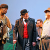 Brad Davis/The Register-Herald<br /> Actors perform a scene during Theatre West Virginia's production of Honey in the Rock June 19 at Grandview Park's Cliffside Amphitheatre.