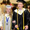 Brad Davis/The Register-Herald<br /> Westside High School graduation, May 31, 2015.