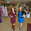 Brad Davis/The Register-Herald<br /> Owners Angie Strickland, left, and Kristi Atha-Rader pose for a quick photo inside Fit For a Queen's new and improved location between Kmart and Jump Zone in the Beckley Plaza Saturday afternoon.