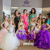 Chris Jackson/The Register-Herald<br /> Dresses modeled Bria Blume, from left, Madison Rader, Elise Atha, Ava Hatfield, Aubrey Hatfield, Kaylee Shackles, Emkynlee Lewis, Danielle Cole, Taylor Parker, Alyssa Lilly and Jayla Lynch.