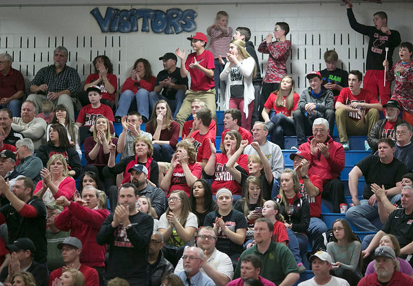 Chris Jackson/The Register-Herald<br /> Valley hosted Greater Beckley during their sectionals in Smithers on Thursday.