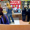 Brad Davis/The Register-Herald<br /> Students, parents and family members from all over the region browse hundreds of projects during the Regional Education Service Agencies (RESA) Regional Social Studies Fair Saturday afternoon at the Beckley-Raleigh County Convention Center.