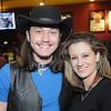 Jennifer Ellison Williams, of Mount Hope, with Cody Wickline at Buffalo Wings