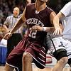 Brad Davis/The Register-Herald<br /> Woodrow Wilson's Tarek Payne against Parkersburg South in the State Tournament March 20 in Charleston.