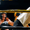 Brad Davis/The Register-Herald<br /> Nikki Green, left, takes on Destiny Conkle during Saturday night's Toughman Contest action at the Beckley-Raleigh County Convention Center.