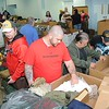 Rick Barbero/The Register-Herald<br /> Veterans were provided with a broad range of necessities including food, clothing, counseling, referral services, at th Army Reserve Center in Rainelle