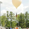 Rick Barbero/The Register-Herald<br /> Students in Elizabeth Hegele AP Physics class at Shady Spring High School launched a weather balloon Monday afternoon at the High School to learn things from its flight.