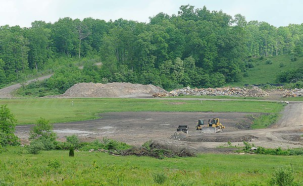 Rick Barbero/The Register-Herald<br /> Raleigh County Solid Waste Authority, proposed recreational site.