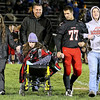 Brad Davis/The Register-Herald<br /> Liberty's Michael Tally and family during senior night festivities prior to the Raiders' final home game of the year against Shady Spring Friday night in Glen Daniel