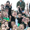 Rick Barbero/The Register-Herald<br /> Winfield fans during game against Washington in the class AAA boys semi-final match of the State Soccer Tournament held at the YMCA soccer complex in Beckley Friday afternoon.