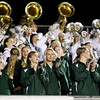 Chris Jackson/The Register-Herald<br /> Greenbrier East's marching band and band cheer on their side during their football game against Princeton Friday in Fairlea.