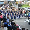 Rick Barbero/The Register-Herald<br /> Shady Spring Middle School band marching in the Beckley Veterans Day Parade held in downtown Beckley late Friday morning.