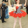 Rick Barbero/The Register-Herald<br /> Jerry Rose, as Drosselmeyer- maker of the magical toys, left, and Emily Cernuto, mechanical doll, entertain children and parents during the Sugar Plum Fairy Tea Party was held at Lewis Automotive Group, on 100 Appalachian Dr in Beckley Sunday afternoon. Guest enjoyed tea with Clara, the Sugar Plum Fairy and other characters from The Nutcracker. This was a benefit event for the Heather Zickefoose Scholarship fund to aid talented students to be professional dancers.