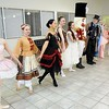 Rick Barbero/The Register-Herald<br /> Characters from the Nutcracker entertained during the Sugar Plum Fairy Tea Party was held at Lewis Automotive Group, on 100 Appalachian Dr in Beckley Sunday afternoon. Guest enjoyed tea with Clara, the Sugar Plum Fairy and other characters from The Nutcracker. This was a benefit event for the Heather Zickefoose Scholarship fund to aid talented students to be professional dancers.