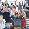 Rick Barbero/The Register-Herald<br /> Washington fans celebrating after a goal was scored againstWinfield during the class AAA boys semi-final match of the State Soccer Tournament held at the YMCA soccer complex in Beckley Friday afternoon.