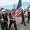 Rick Barbero/The Register-Herald<br /> Veterans marching in the Beckley Veterans Day Parade held in downtown Beckley late Friday morning.