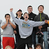 Rick Barbero/The Register-Herald<br /> Weir fans against Pikeview during the class AA/A semi-final match of the State Soccer Tournament held at the YMCA soccer complex in Beckley Friday morning.