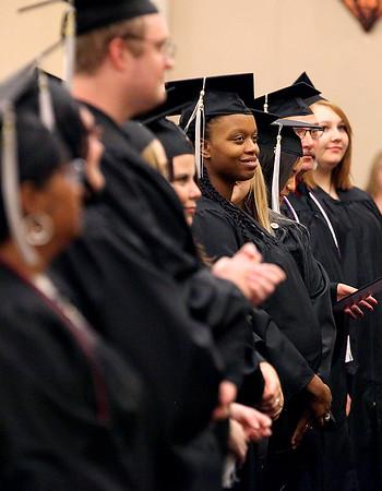 Brad Davis/The Register-Herald<br /> Valley College's Fall Commencement, November 20, 2015 at Tamarack.