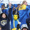 Rick Barbero/The Register-Herald<br /> Shady Spring fans during game against Oak Hill at Shady Spring High School.