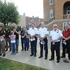 Rick Barbero/The Register-Herald<br /> 9/11 ceremony held at Word Park on Neville Street in Beckley Friday morning.