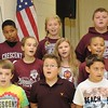 Rick Barbero/The Register-Herald<br /> Crescent Elementary School on Crescent Road in Beckley celebrated for being named one of the best schools in the state. Crescent was only one of nine out of seven hundred elementary schools in WV to receive the School of Excellence award. The 5th grade choir sang a few songs during the celebration.