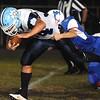 Rick Barbero/The Register-Herald<br /> Midland Trail vs Meadow Bridge Friday night at Midland Trail High School in Hico.