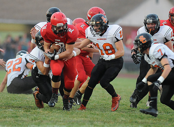 Rick Barbero/The Register-Herald<br /> Summers Co. at Liberty Friday Night.