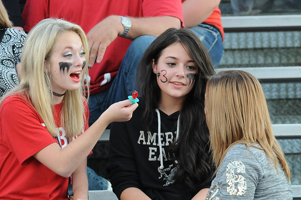 Rick Barbero/The Register-Herald<br /> Liberty fans during game against Summers Co. at Liberty High School