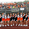 Rick Barbero/The Register-Herald<br /> Summers Co. Cheerleaders and fans during game against Liberty