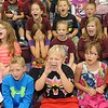 Rick Barbero/The Register-Herald<br /> Students at Crescent Elementary School on Crescent Road in Beckley celebrating for being named one of the best schools in the state. Crescent was only one of nine out of seven hundred elementary schools in WV to receive the School of Excellence award.