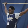 Rick Barbero/The Register-Herald<br /> Jrue Holiday cooling down after practice during the New Orleans Pelicans training camp held at The Greenbrier Resort in White Sulphur Springs Tuesday afternoon.