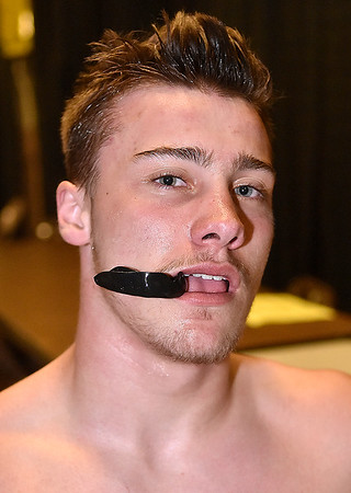 (Brad Davis/The Register-Herald) Middleweight R.J. Foldon.