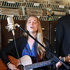 Marguerite performs for the third installment of Live in the Library. (Chris Jackson/The Register-Herald)