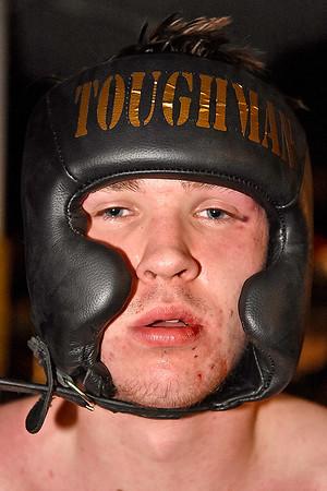 (Brad Davis/The Register-Herald) Middleweight Jacob Blevins.