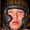 (Brad Davis/The Register-Herald) Middleweight Jacob Blevins.