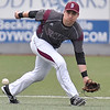 (Brad Davis/The Register-Herald) Woodrow Wilson shortstop Michael Maiolo fields a ground ball during the Flying Eagles' win over Fayetteville Thursday afternoon at Linda K. Epling Stadium.