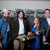 Members of the band Marguerite Jeremiah Hatfield, from left, Josiah Spangler, Abigail Reynolds and Evan Olds. (Chris Jackson/The Register-Herald.