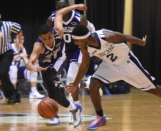 C. Adam Toney Class A all-stars vs Jan-Care AA all-stars, in the Little General Scott Brown Classic held at the Beckley-Raleigh County Convention Center Saturday evening.<br /> (Rick Barbero/The Register-Herald)