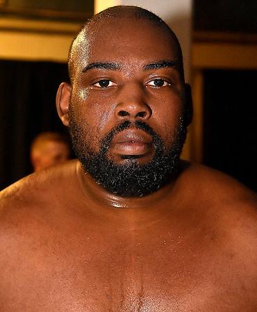 (Brad Davis/The Register-Herald) Heavyweight Gary Edwards.