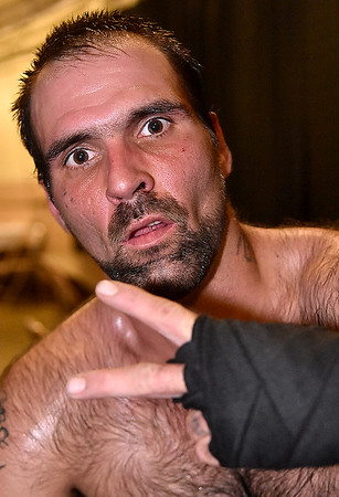 (Brad Davis/The Register-Herald) Light heavyweight Scott Miller.