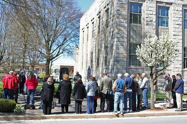 The 6th annual Upper Big Branch Memorial is held at the Raleigh County Courthouse in downtown Beckley on Tuesday. (Chris Jackson/The Register-Herald)