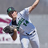 (Brad Davis/The Register-Herald) Marshall starting pitcher Joshua Shapiro delivers against Florida Atlantic Sunday afternoon at Linda K. Epling Stadium.