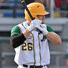 (Brad Davis/The Register-Herald) West Virginia's Dylan Harvey stands in for an AB against Champion City Sunday evening at Linda K. Epling Stadium.