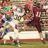 Woodrow Wilson vs Riverside High School at Van Meter Stadium in Beckley Friday night.<br /> (Rick Barbero/The Register-Herald)