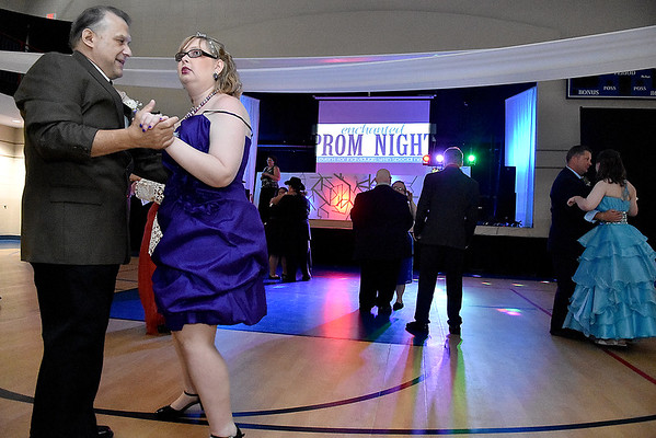(Brad Davis/The Register-Herald) Enchanted Prom Friday night inside The Place at United Methodist Temple.