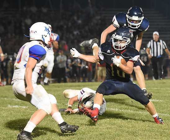 Independence vs Midland Trail at Independence High School in Coal City Friday night.<br /> (Rick Barbero/The Register-Herald)