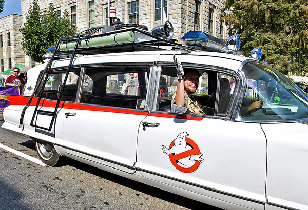 (Brad Davis/The Register-Herald) Kid's Classic Festival Parade Saturday afternoon.